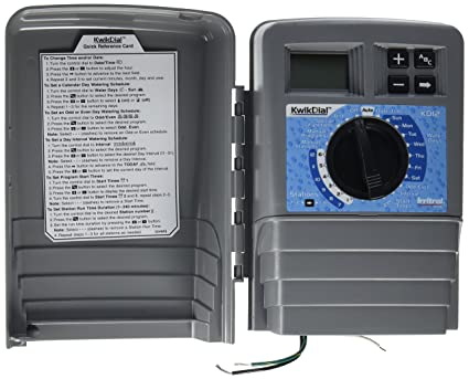 Amazon com : Irritrol Kwik Dial 12 Station Outdoor Irrigation