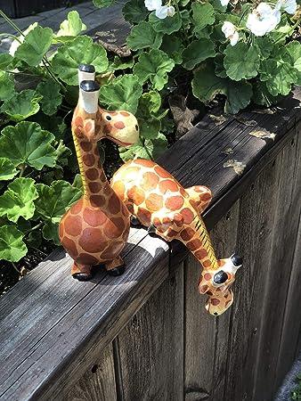 Bongjas Dream Handmade Comic Wooden Giraffe 2pcs Set