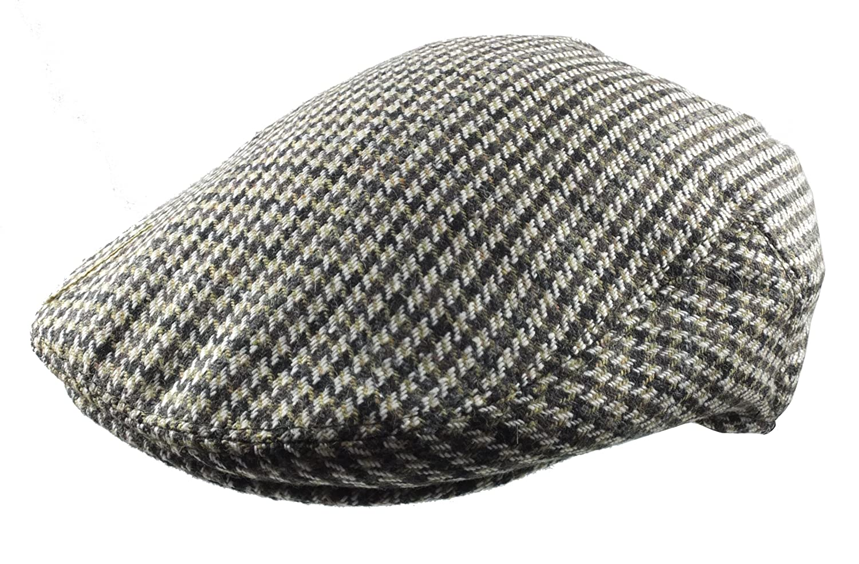 744006f6 Revive Online Men's Traditional Tweed Flat Cap - Retro 30's Style (Large  (59cm): Amazon.co.uk: Clothing