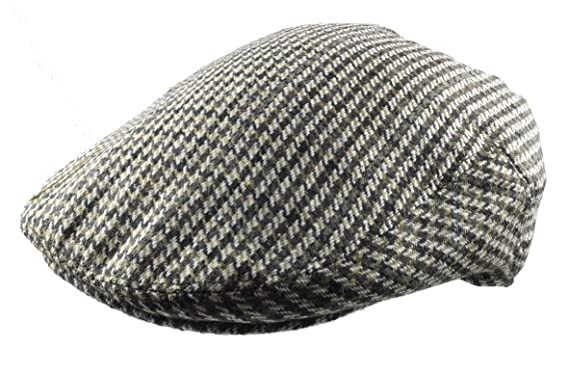 Revive Online Men s Traditional Tweed Flat Cap - Retro 30 s Style (Large ... b8ff7559273
