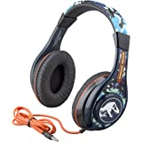 Jurassic World 2 Kids Headphones for Kids Adjustable Stereo Tangle-Free 3.5Mm Jack Wired Cord Over Ear Headset for…