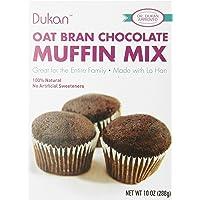 Dukan Diet Oat Bran Muffin Mix, Chocolate, 10 Ounce