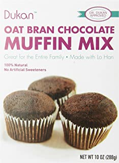 Dukan Diet Oat Bran Muffin Mix, Chocolate, 10 Ounce