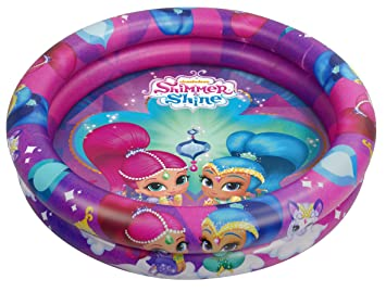 Shimmer And Shine- Piscina Hinchable (Saica 2651): Amazon.es ...