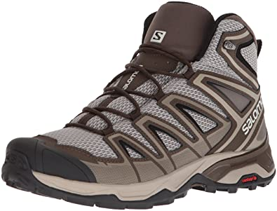 Salomon Men s X Ultra MID 3 AERO Trail Running Shoe Vintage kaki 7 ... 1a016787a05a