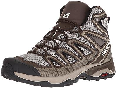ef11ffd5f055 Salomon Men s X Ultra MID 3 AERO Trail Running Shoe Vintage kaki 7 ...