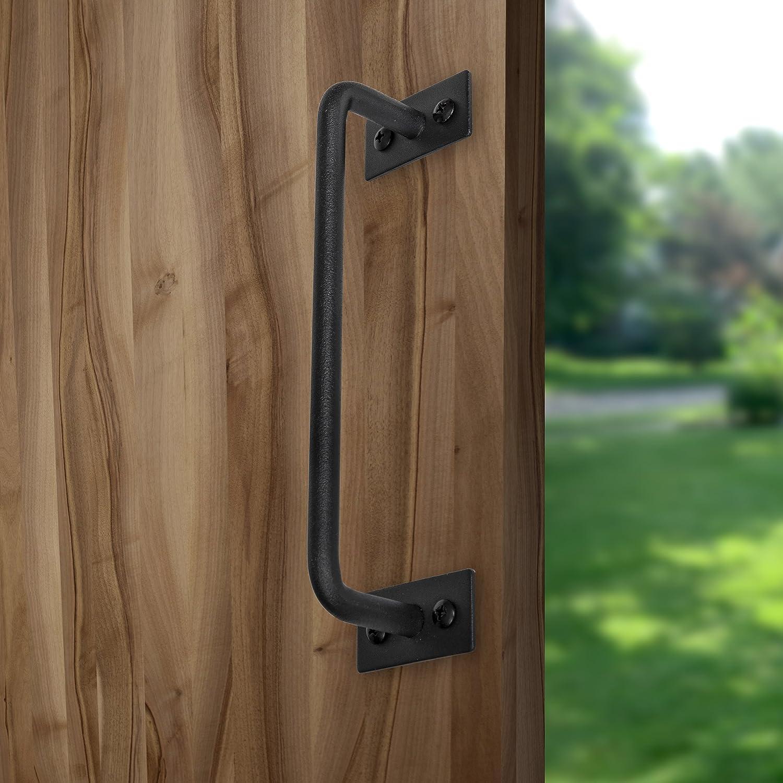 lynelox – moderna puerta corredera mango – acero al carbono 7 Inch ...