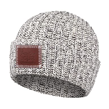 Love Your Melon Black Speckled Cuffed Beanie at Amazon Women s ... 7f437fbcd3d