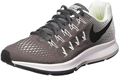 Nike Wmns Air Zoom Pegasus 33, Scarpe da Corsa Donna, Grigio