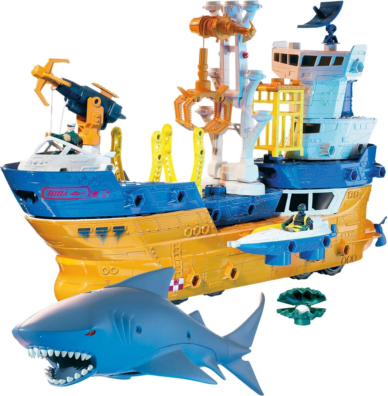 B000OC2W50 Matchbox Mega Rig Shark Adventure 91TFFTC9S4L.SL1500_