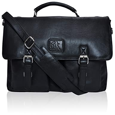 Image Unavailable. Image not available for. Color  Genuine Leather Laptop  Messenger Bag for men- Premium Office Briefcase ... 1fa5593a59e95