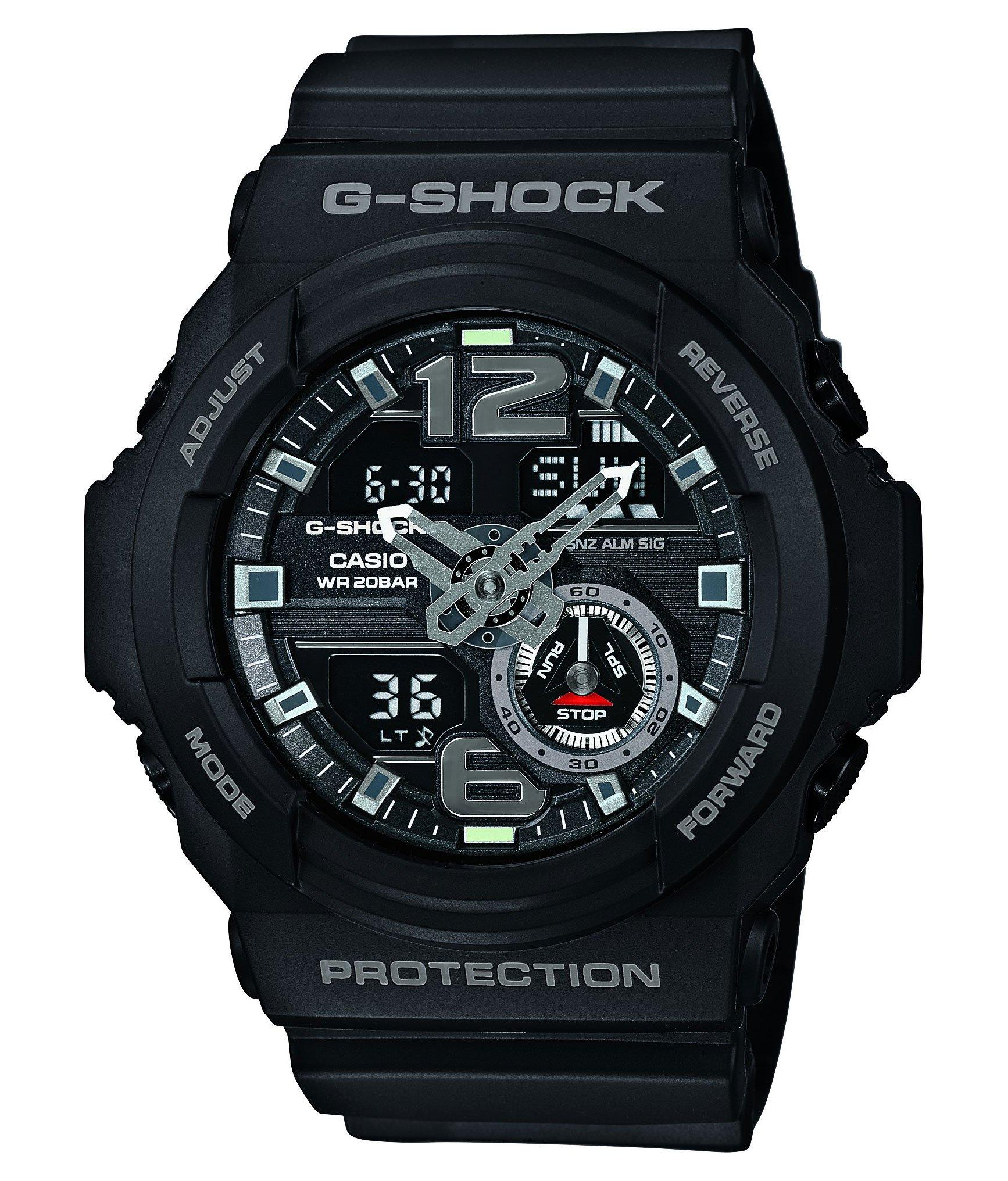 G-Shock Men's GA310 Classic Series Quality Watch - Black / One Size by Casio