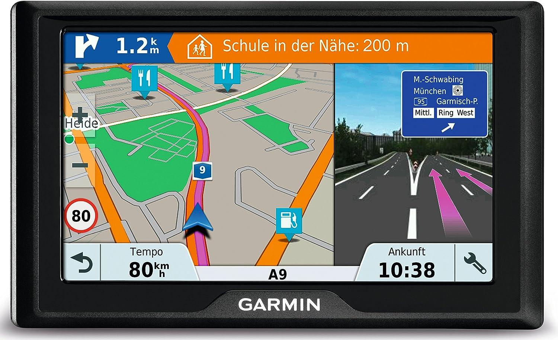 Garmin Drive 51 Central EU LMT-S - Navegador GPS con mapas de por vida y tráfico vía móvil (pantalla de 5