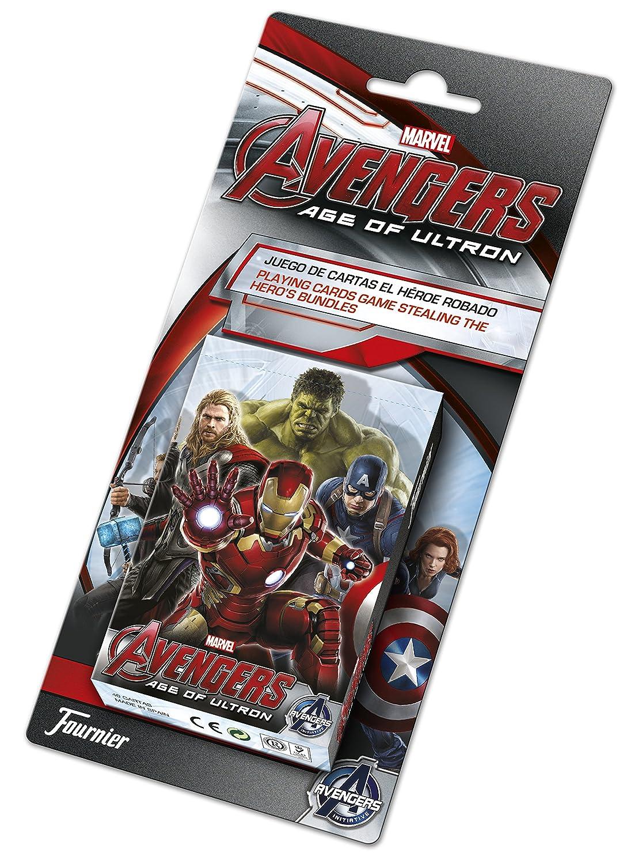 Avengers - Baraja de Naipes, 40 Cartas (Fournier 1030774 ...