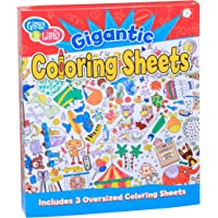 """C.R. Gibson Large Coloring Page Posters for Kids, 20"""" W x 27.75"""" H, 3pc"""