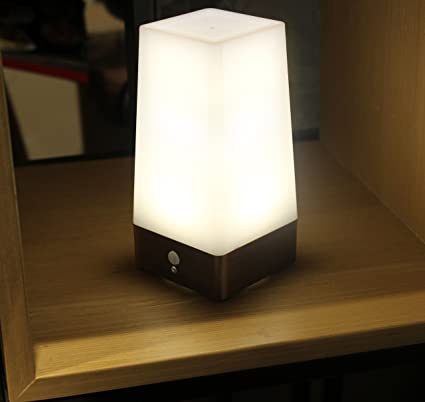 Amazon wralwayslx 3 modes battery powered small table lamp wralwayslx 3 modes battery powered small table lampbedside lamp wireless pir motion sensor led mozeypictures Choice Image