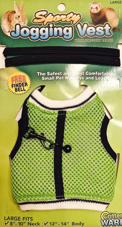 Pet Squirrel Vest Harnesses Cartoon Vest Clothes with Lead Leash for Ferret H