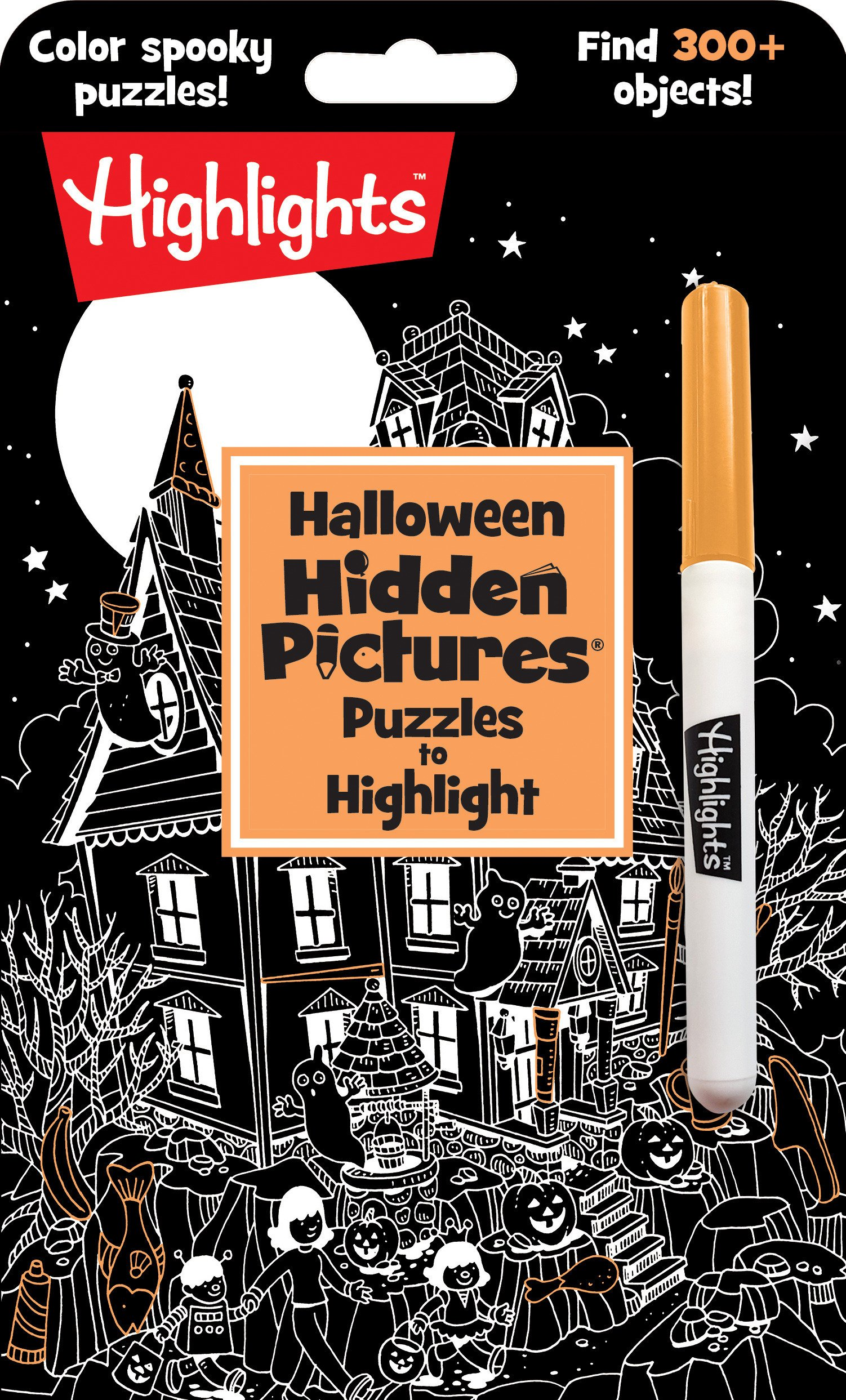 Download Halloween Hidden Pictures® Puzzles to Highlight (Highlights™ Hidden Pictures® Puzzles to Highlight Activity Books) PDF