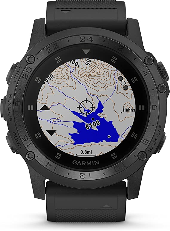 Amazon.com: Garmin Tactix Charlie Premium Tactical GPS Watch ...