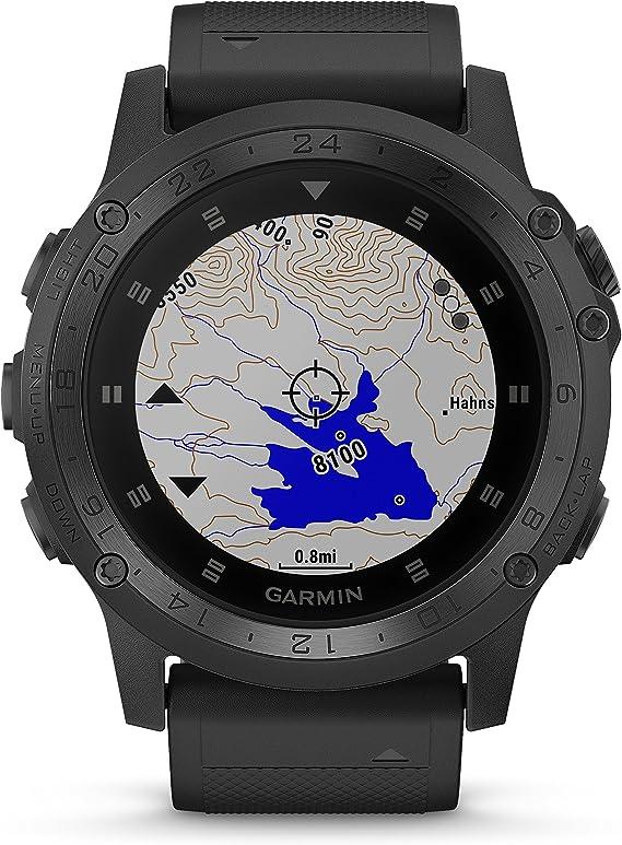 Amazon.com: Garmin Tactix Charlie Premium Tactical GPS Watch ...