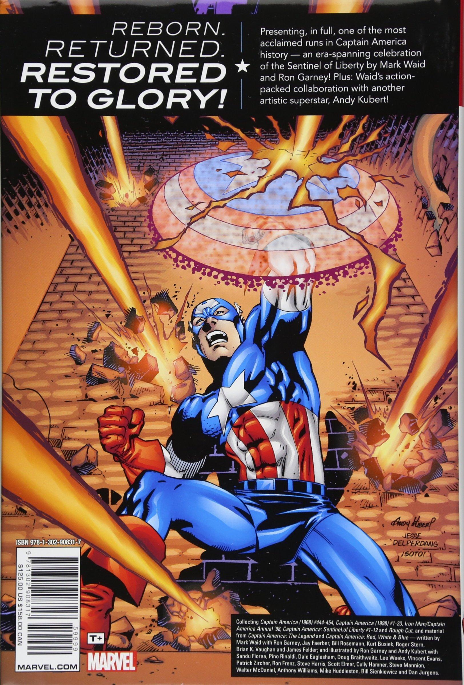 Captain America By Mark Waid, Ron Garney & Andy Kubert ...
