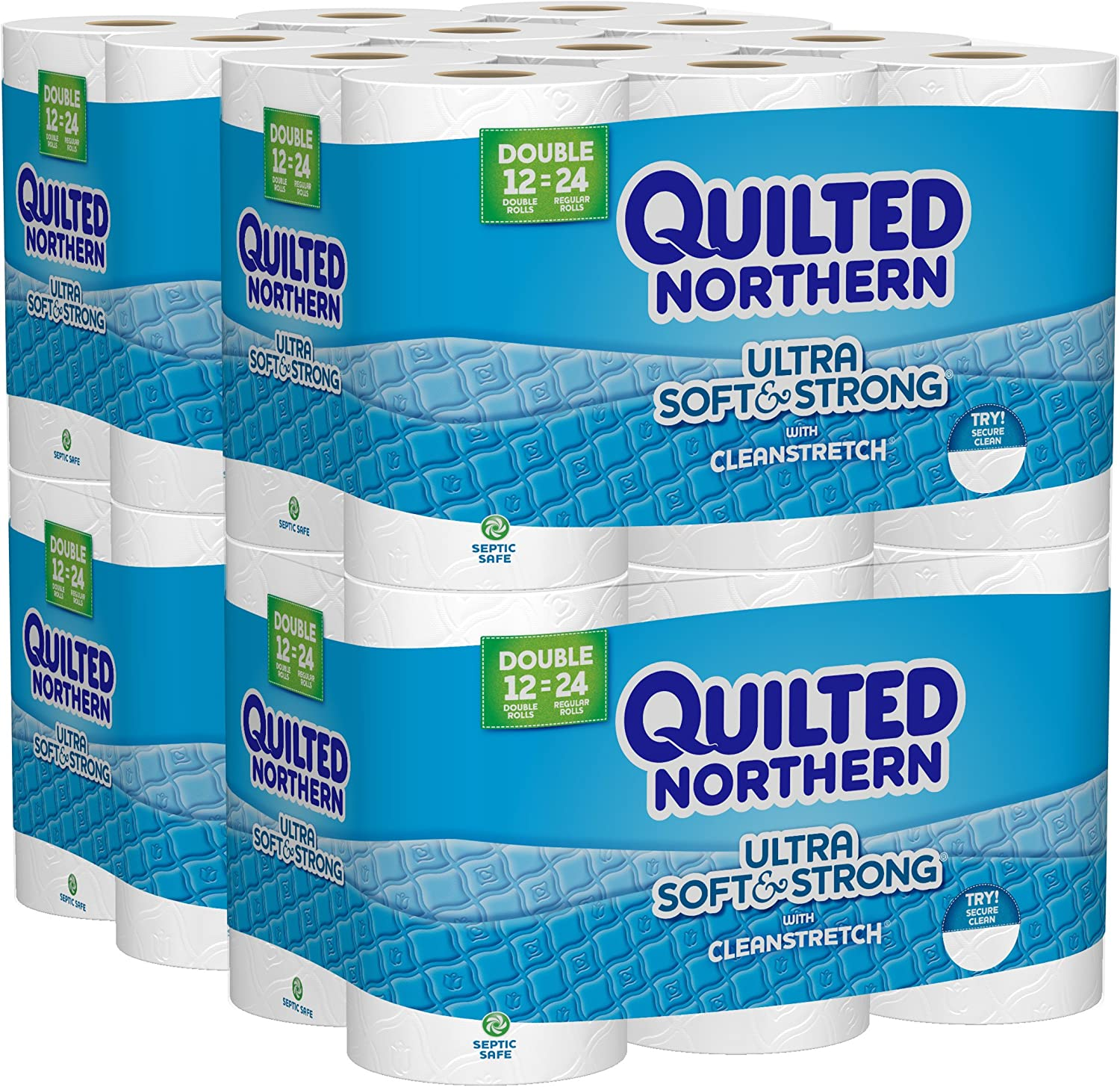 Quilted Northern Ultra Soft Toilet Paper is a high quality toilet paper that's also septic safe
