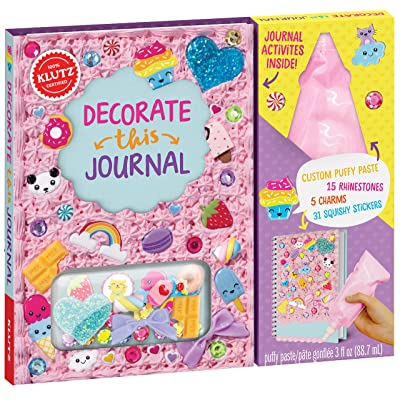 Klutz Decorate This Journal Toy: Editors of Klutz: Toys & Games