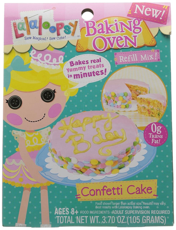 Amazon lalaloopsy baking oven mix confetti cake toys games forumfinder Images