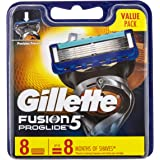 Gillette Fusion ProGlide Manual Men's Shaving Razor Blade Refill, 8 Pack, Mens Razors / Blades