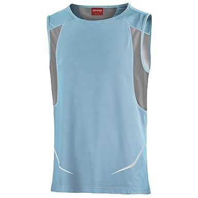 Spiro - Camiseta de Deporte Transpirable sin Mangas para Hombre - Ideal Running/Gym y Otros Deportes: Amazon.es: Ropa y accesorios