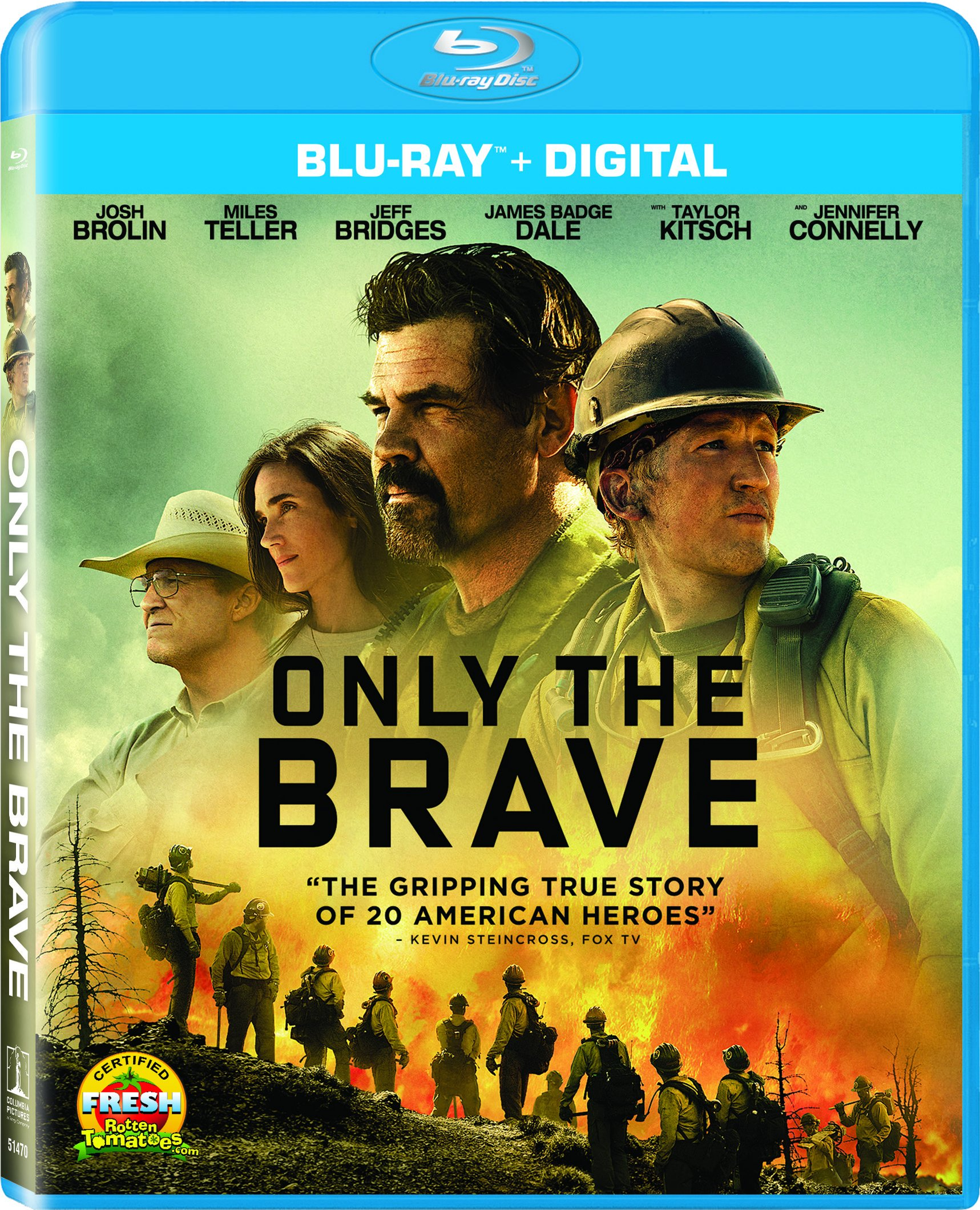 Only The Brave (Dolby, AC-3, Widescreen, Subtitled, Dubbed)