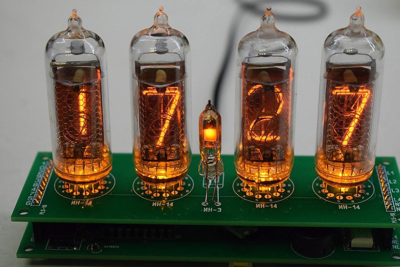Amazon com: Nixie Tube Clock Retro IN-14 DIY KIT All Parts