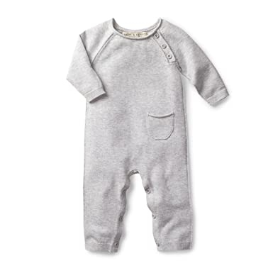 06de99fcac0ab Hope   Henry Layette Cable Knit Sweater Romper Made with Organic Cotton