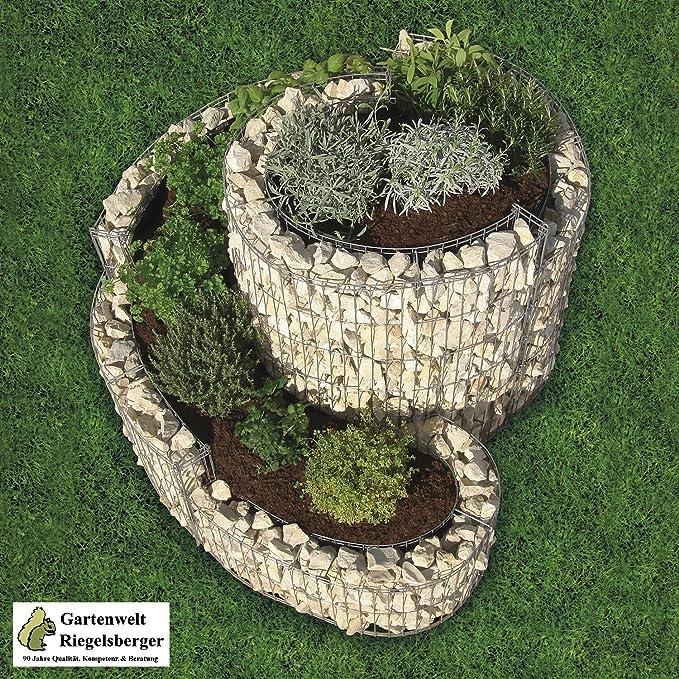 balcone fuori spirale in dissolvenza bambini 1 x spirale in dissolvenza GUFO spina da giardino fiori spina