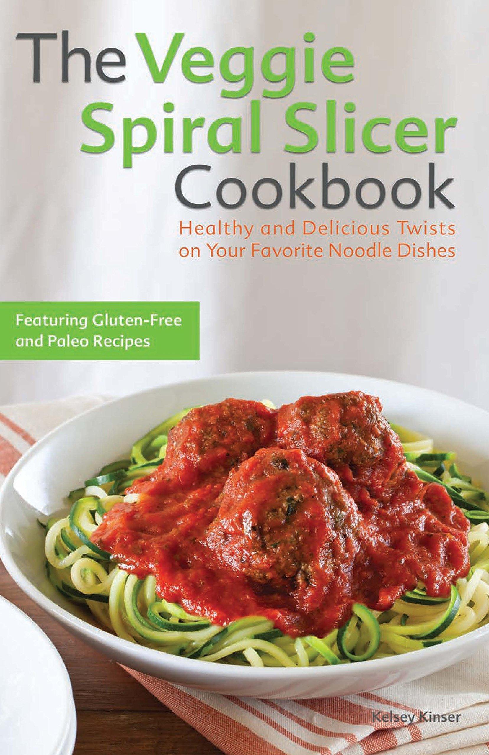 Veggie Spiral Slicer Cookbook Delicious product image