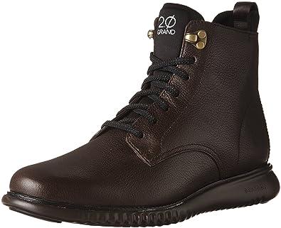 Cole Haan Men's 2 Zerogrand City Boot Waterproof Java/Dark Roast Waterproof  8 ...