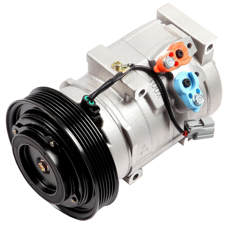 ECCPP AC Compressor CO 10736C for 03-06 Acura MDX 05-08 Honda Odyssey Pilot Ridgeline 3.5L Car Compressor Pump 104001-5211-1440542