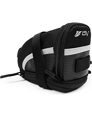BV Bicycle Strap-On Bike Saddle Bag Seat Bag Cycling Bag e1152f34735c7