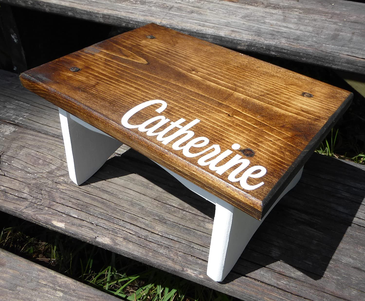 Kids Customized Wooden Step Stool