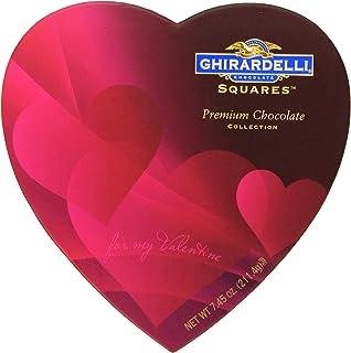 Amazon valentine gourmet truffles chocolate passion gift ghirardelli valentines chocolate squares premium chocolate assortment 745 ounce heart box negle Gallery