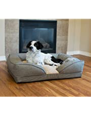 """K&H Pet Products Pillow-Top Orthopedic Lounger Pet Bed Large Classy Tan 28"""" x 36"""""""