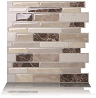 tic tac tiles antimold peel and stick wall tile in polito bella 5