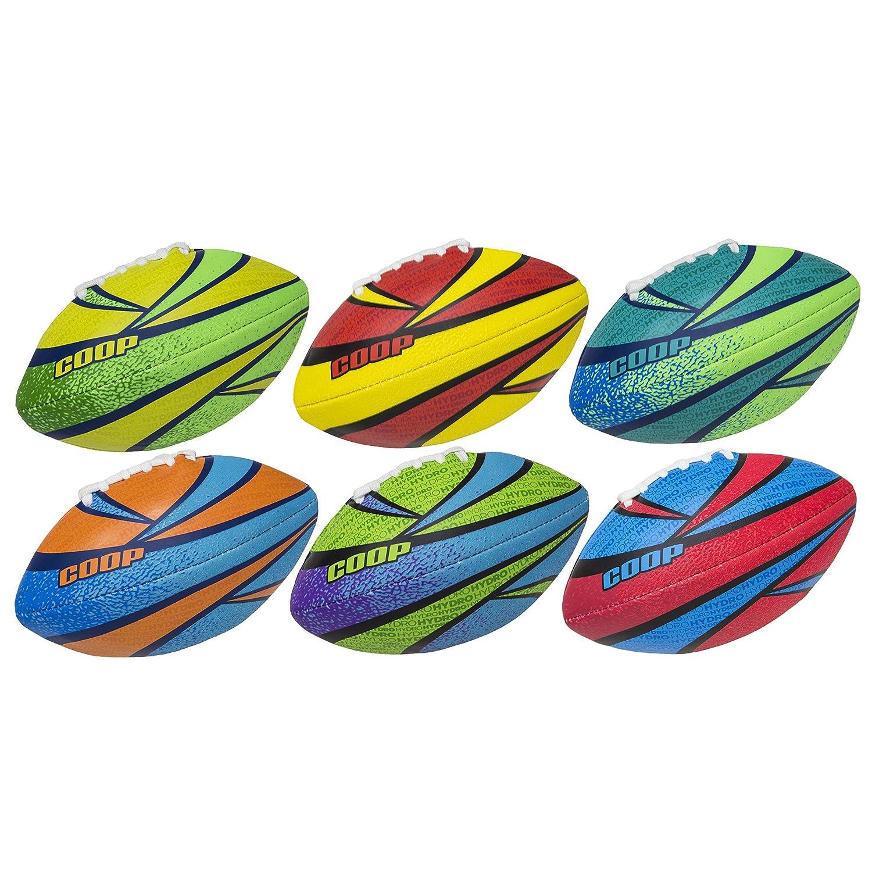SwimWays - 6038070 - Ballon de Football Américain Rookie Hydro - Jeu d'Eau et de Plage - Couleur Aléatoire SPIN3|#Spinmaster