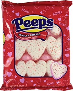 product image for Marshmallow Peeps Vanilla Creme Hearts 9ct.
