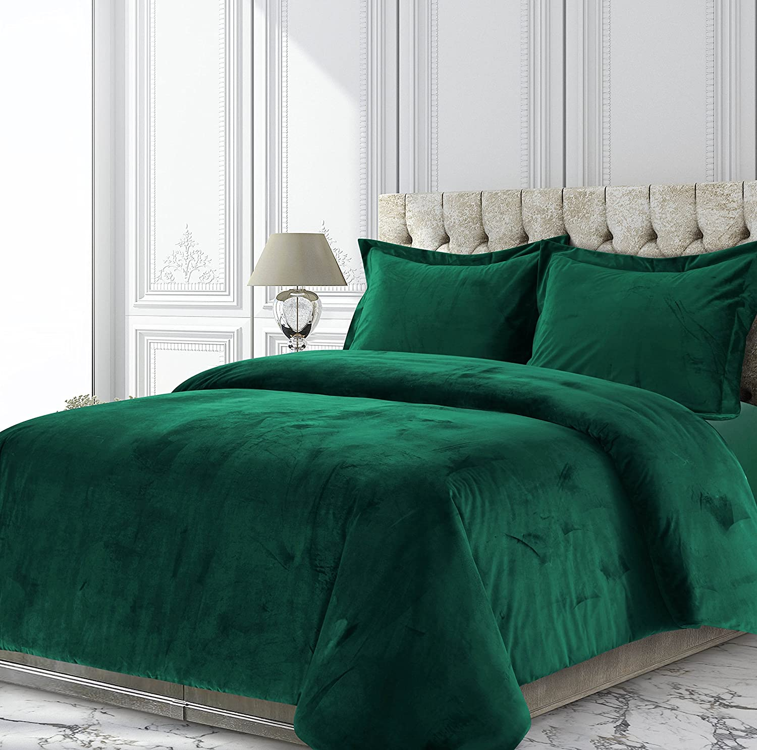 Amazon Tribeca Living Veniceduvettweg Venice Velvet Oversized