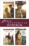 Love Inspired Historical July 2015 Box Set: The Marriage Agreement\Cowgirl for Keeps\The Lawman's Redemption\Captive on the High Seas