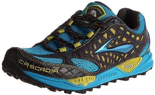 Brooks Cascadia7 M, Zapatillas de Running para Hombre, Blue/Yellow/Black, 49.5 EU / 14 UK: Amazon.es: Zapatos y complementos