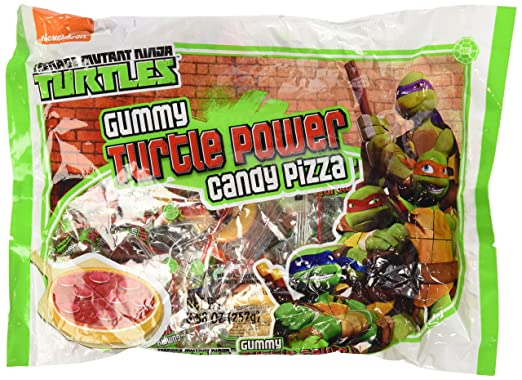 Teenage Mutant Ninja Turtles Gummy Turtle Power Candy pizzas ...