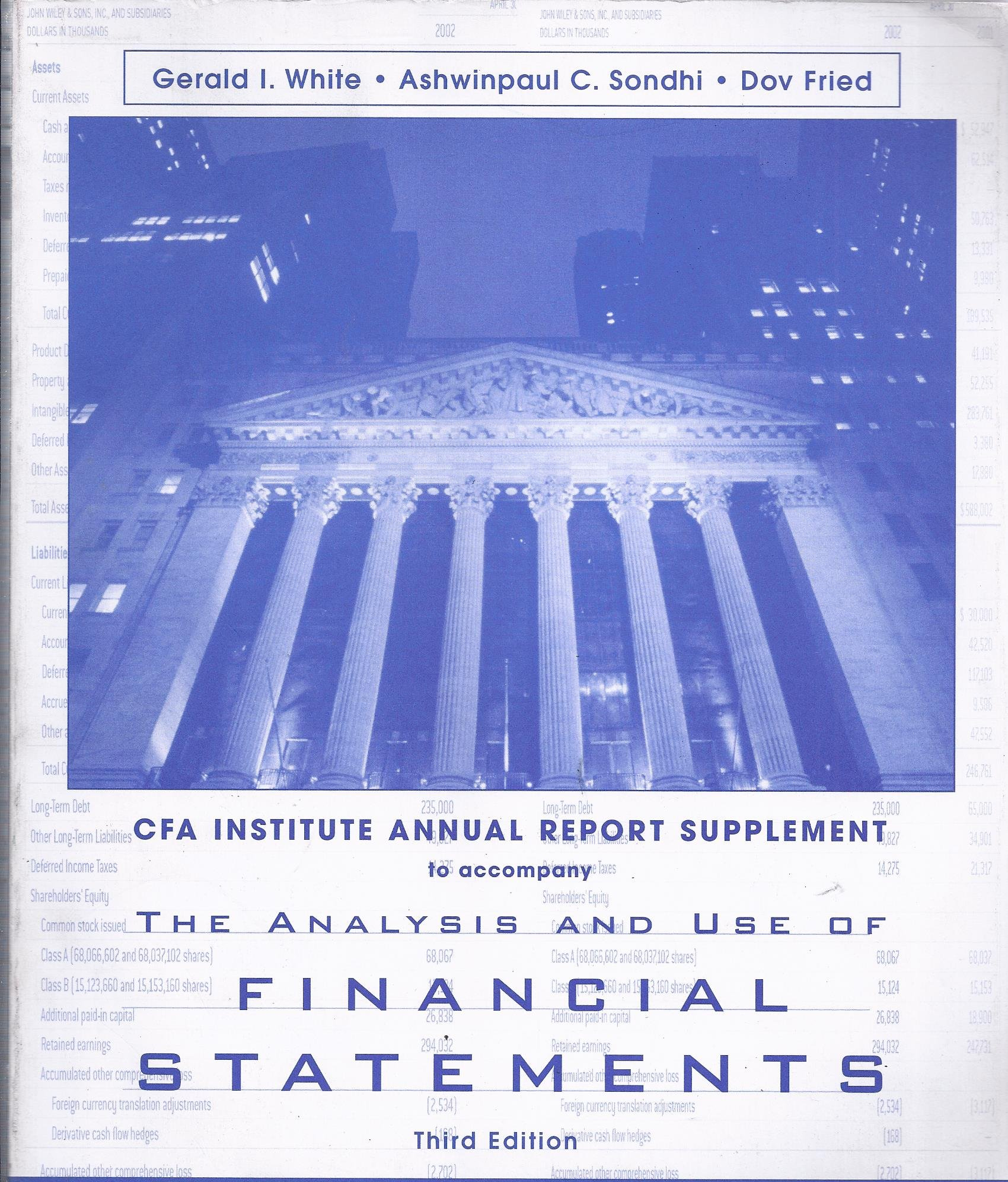 The Analysis and Use of Financial Statements (AIMR Annual