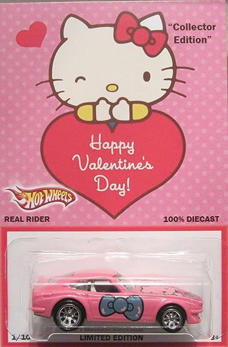 Amazon Com Hot Wheels Custom Datsun 240z Hello Kitty Happy